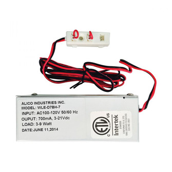 Polaris 9W 700mA Driver w/Box Harness and Loops (91 WLE-D7BH-7)