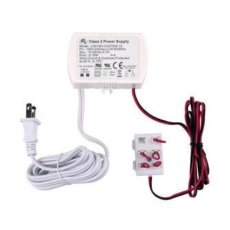 Polaris 18W 700mA Driver w/Harness, Loops, Cord and Plug (91|WLE-D8H-7CP)