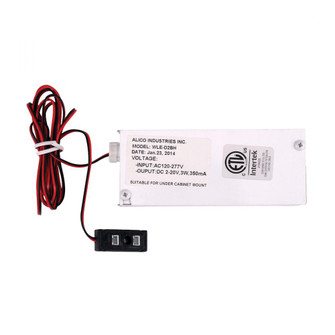 Driver, Box and Harness Adapter - 4W 350mA LED Class II Electronic. (91|WLE-D2BH)