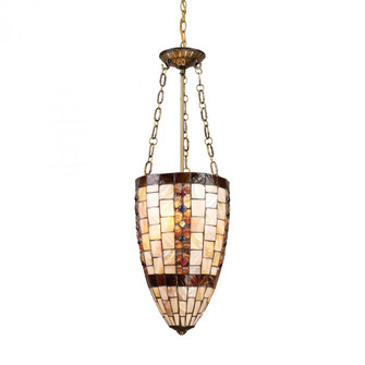 Hastings 3-Light Pendant in Antique Brass (91|63000-3)