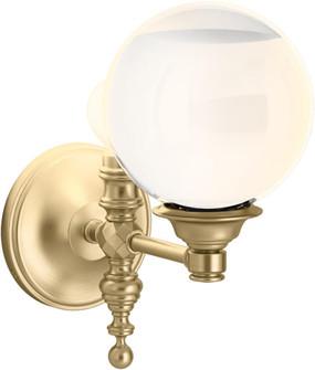 DAMASK™ 1 LIGHT LACEMAKER SCONCE (10245|22546-SC01-BGL)