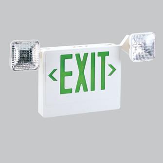 LED EXIT & EMERGENCY COMBO W/R (104 NEX-711-LED/G)
