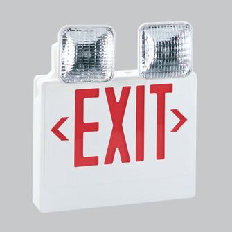 LED EXIT & EMERGENCY COMBO W/R (104 NEX-711-LED/R)