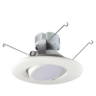 5/6 Onyx Retrofit LED,Round Adjustable Reflector,750lm,12.5W,3000K,90+CRI,120V,White (104 NOX-563430WW)