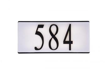 Number ''4'' (20|AP-4-FB)