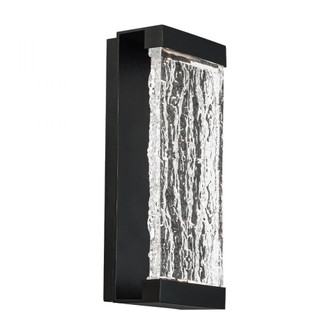 Fusion LED Outdoor Wall Light (16|WS-W39114-BK)