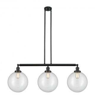 Beacon Island Light (3442|213-BK-G202-12-LED)