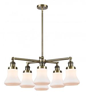 Bellmont 6 Light Chandelier (3442|207-6CR-AB-G191)