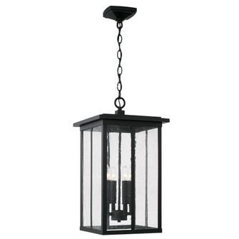 4 Light Outdoor Hanging Lantern (42|943844BK)