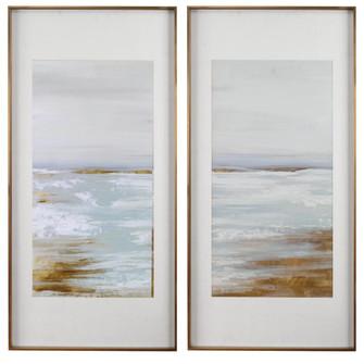 Uttermost Coastline Framed Prints, S/2 (85|33716)