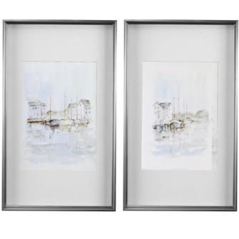 Uttermost New England Port Framed Prints, S/2 (85|33714)