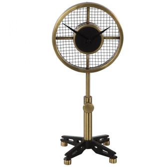 Uttermost Gio Brass Table Clock (85|06104)