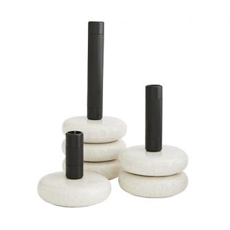Glaze Candlesticks, Set of 3 (314 DA9006)