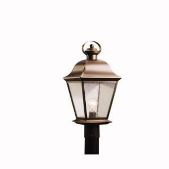 Outdoor Post Mt 1Lt LED (10687|9909OZLED)