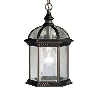 Outdoor Pendant 1Lt LED (10687 9835BKL18)
