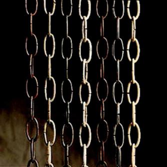 Outdoor Brass Chain 36in (10687 4927RZ)