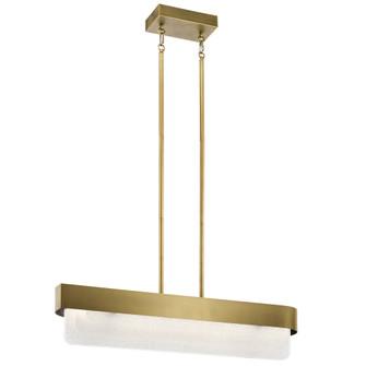 Linear Chandelier LED (10687|44160NBRLED)