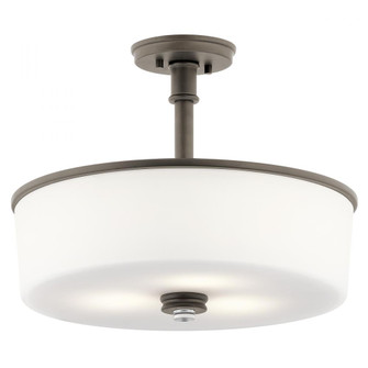 Pendant/Semi Flush 3Lt LED (10687 43925OZL18)