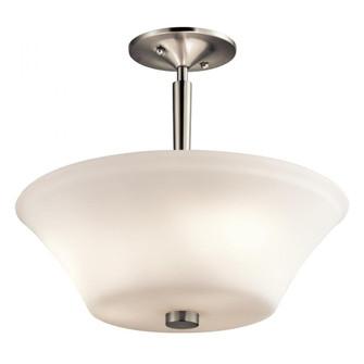 Semi Flush 3Lt LED (10687|43669NIL18)