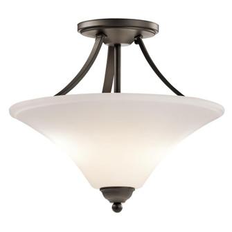 Semi Flush 2Lt LED (10687|43512OZL18)