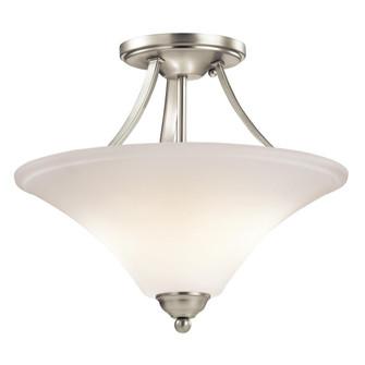 Semi Flush 2Lt LED (10687|43512NIL18)
