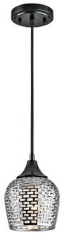 Mini Pendant 1Lt (10687|43489BKSLV)
