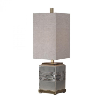 Uttermost Covey Gray Glaze Buffet Lamp (85|29680-1)