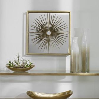 Uttermost Starlight Mirrored Brass Wall Decor (85 04304)