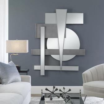 Uttermost Wedge Mirrored Modern Wall Decor (85 04306)