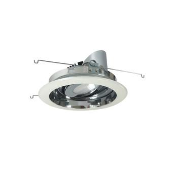 6'' Marquise II Round Regressed Adj. Reflector, Spot, 2500lm, 3000K, Specular Clear/Wh (104 NRM2-619L2530SCW)