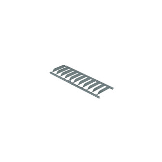 Louver for 12'' T-Wash LED Track, Silver (104|NTEL-8903S)