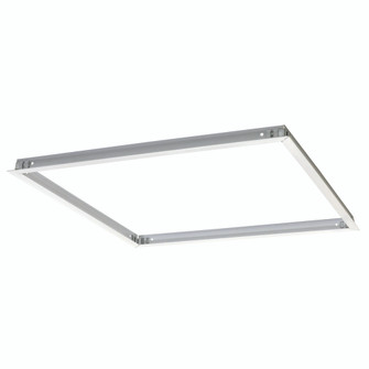 Flange Kit for Recessed Mounting 2x2 LED Edge-Lit & Back-Lit Panels, White (104 NPDBL-22RFK/W)