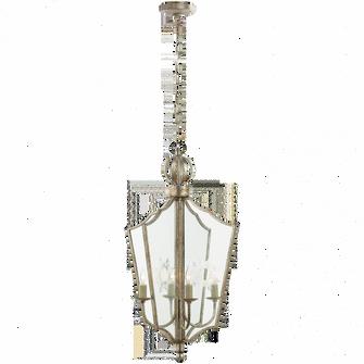 Maher Lantern in Burnished Silver Leaf (279|SR 5002BSL)