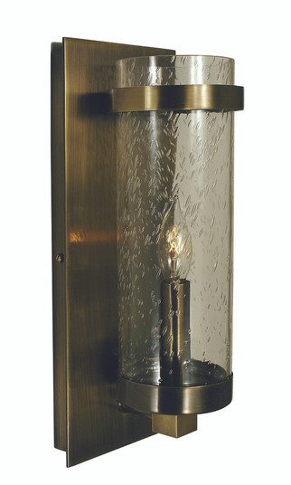 1-Light Brushed Nickel/Frosted Glass Hammersmith Sconce (4431 BN/F)