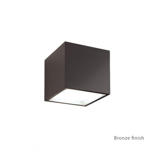 Bloc LED Up or Down Wall Light (WS-W9201-BZ)