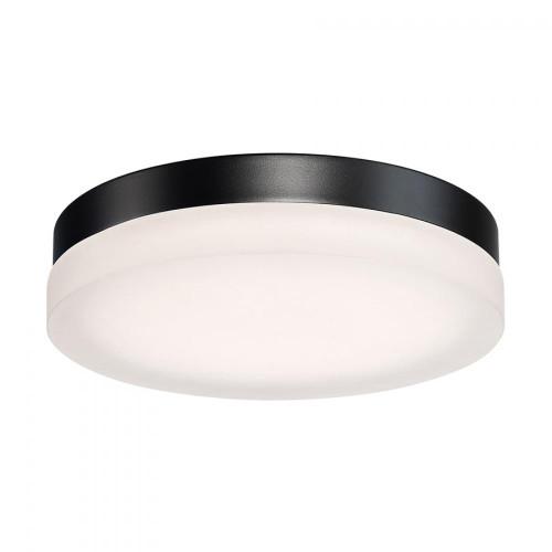 Circa LED Round Flush Mount (FM-2111-30-BK)