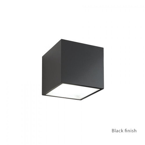 Bloc LED Up or Down Wall Light (WS-W9201-BK)