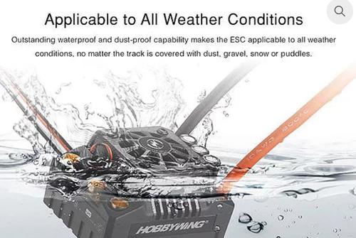 EZRUN MAX8 (Waterproof 1/8th)