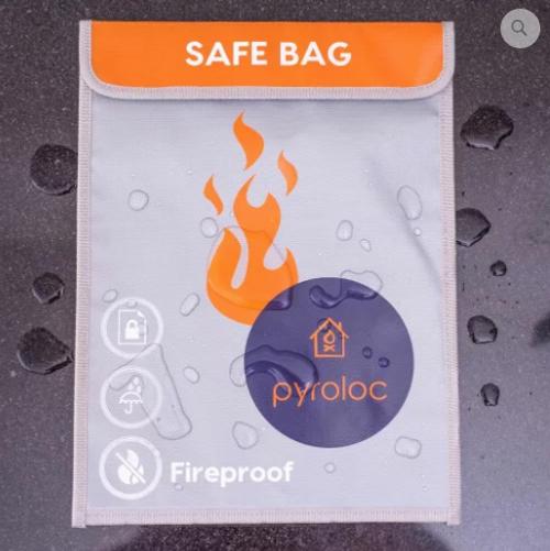 Pyroloc Lipo Safe Bag