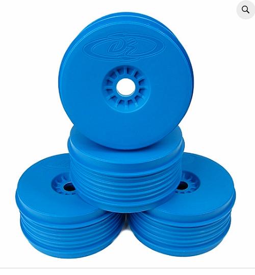 SPEEDLINE PLUS WHEELS FOR 1/8 BUGGY / BLUE
