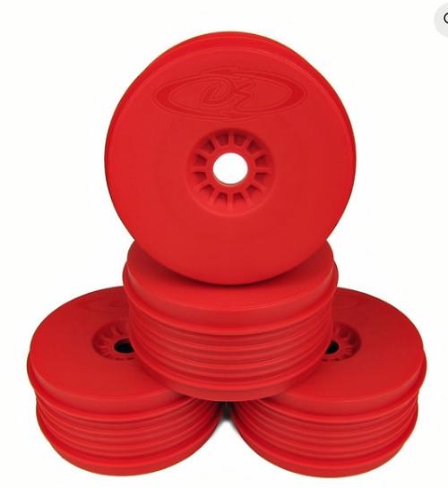 SPEEDLINE PLUS WHEELS FOR 1/8 BUGGY / RED