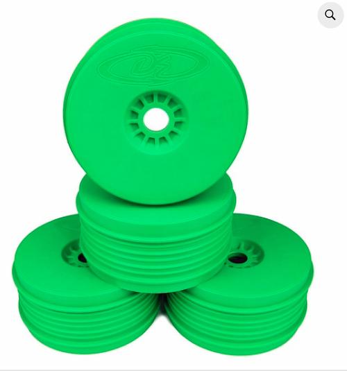 SPEEDLINE PLUS WHEELS FOR 1/8 BUGGY / GREEN