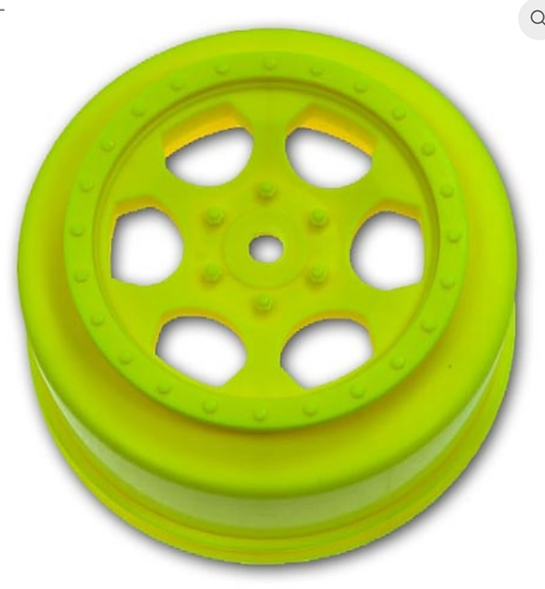 TRINIDAD SC WHEELS FOR TLR TEN-SCTE - 22SCT / YELLOW