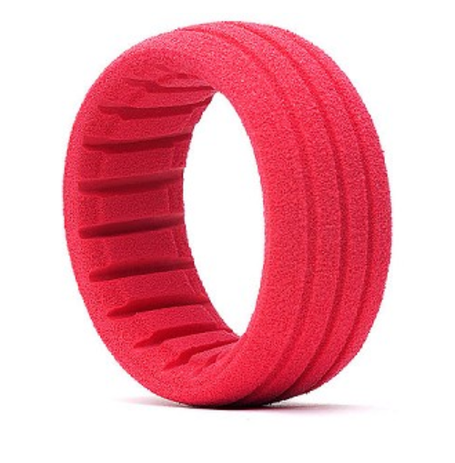 1:8 BUGGY / SC SHAPED INSERT RED (SOFT) (4 PCS)