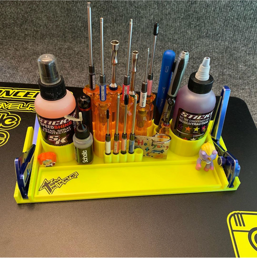 MIP/Tire Sauce Rack + setup gauge slots