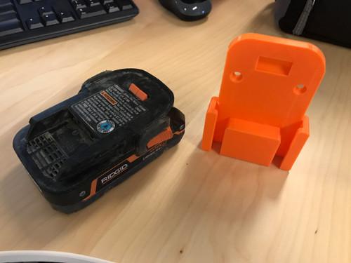 Battery Holster - Ridgid 18v
