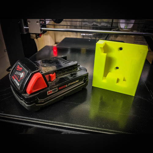 Battery Holster - Milwaukee M18