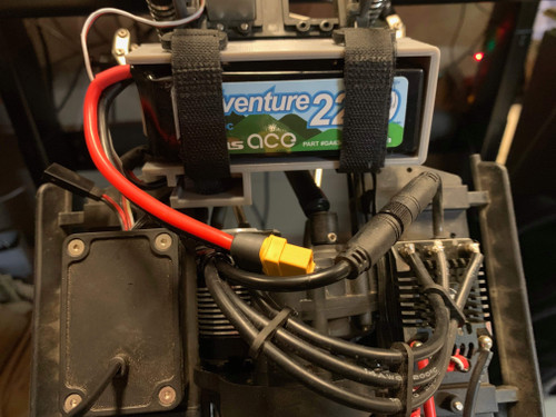 Element RC - Enduro Battery Tray - Gens Ace Adventure 3S Lipo