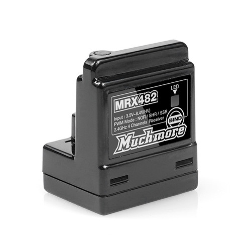 MuchMore Racing MRX-482 4 Channel Receiver (Sanwa Compatible)