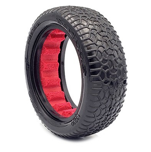 1:10 BUGGY SCRIBBLE 2.2 2WD FRONT (CLAY) W/ V2 RED INSERT